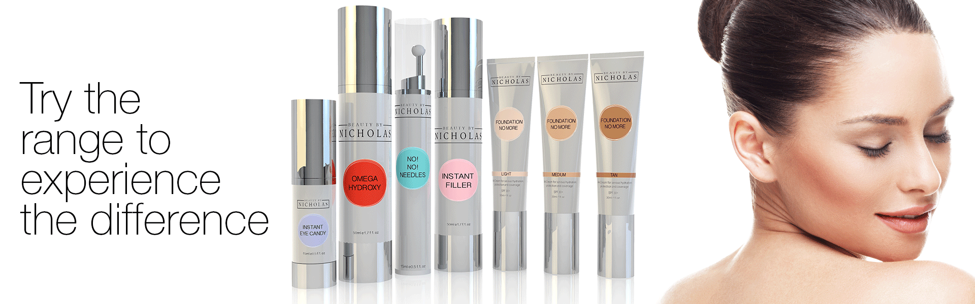 advanced anti-ageing advanced skincare formulations by Beauty By Nicholas